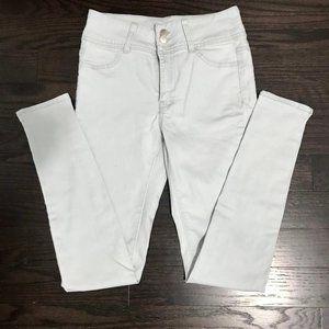 Revamped/Denim - High Rise Super Skinny Jeans